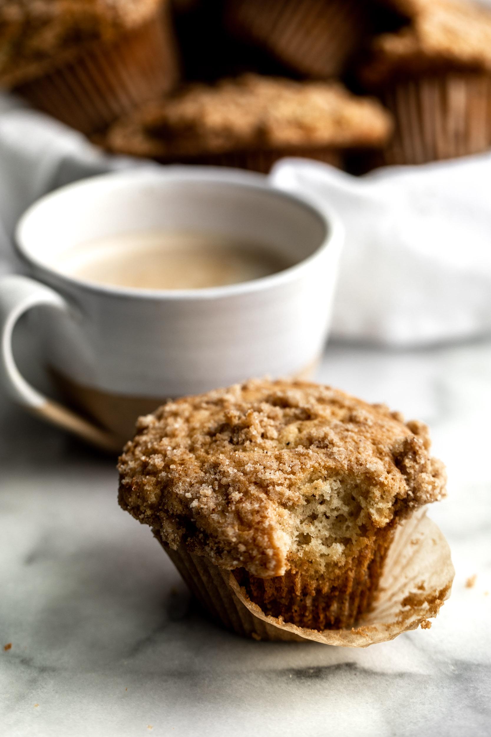 Coffee Cake Streusel Muffins