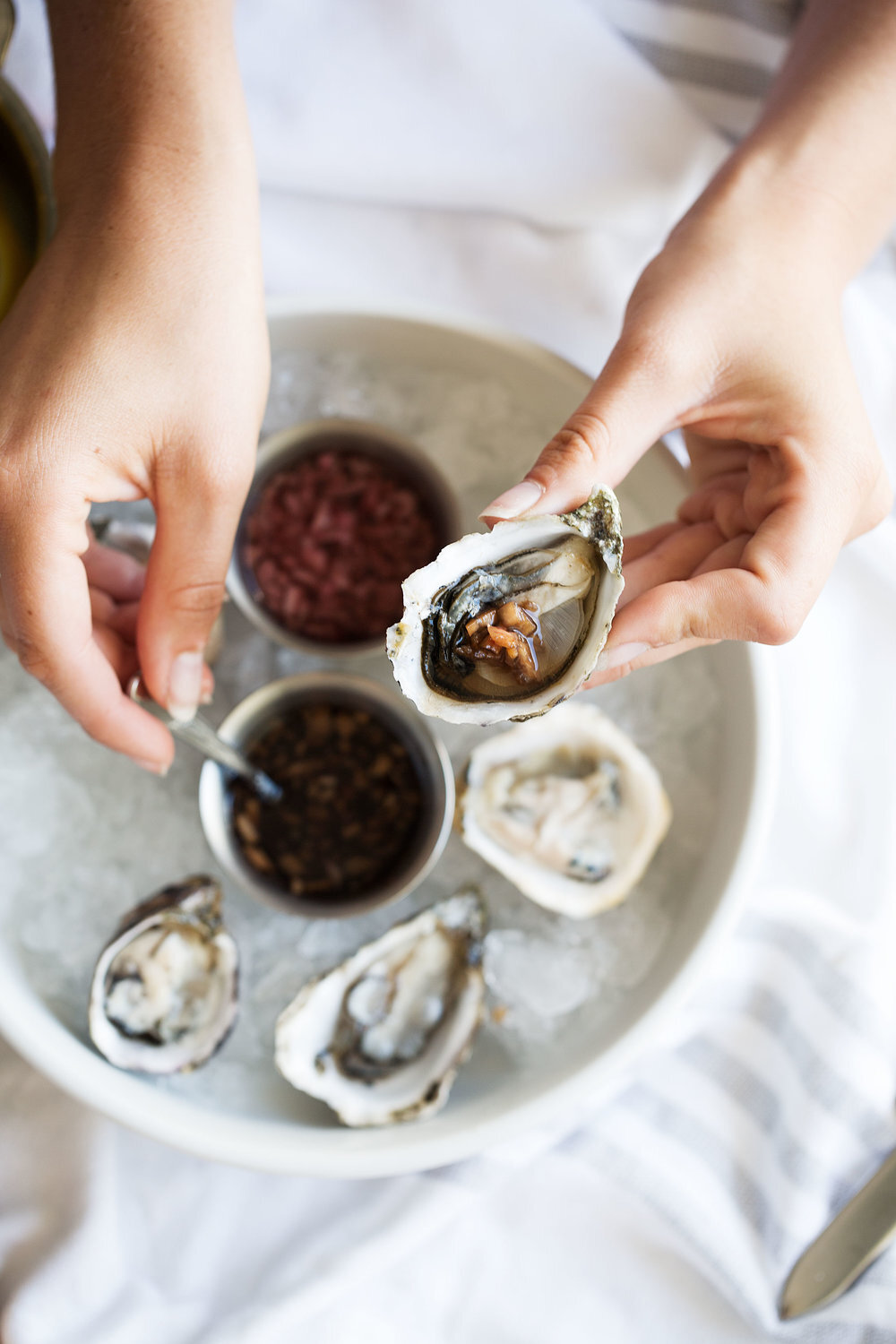 Oysters: How to Shuck & Serve Them