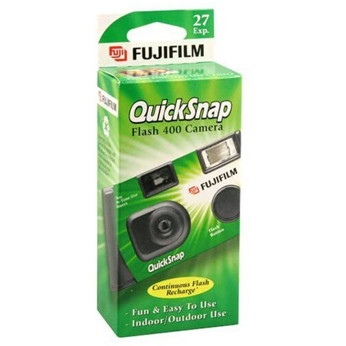Disposable Camera (2 pack) For those who love film but don't necessarily know how to use film cameras. I've been bringing retro disposable cameras to gathering's recently and it's always a hit.