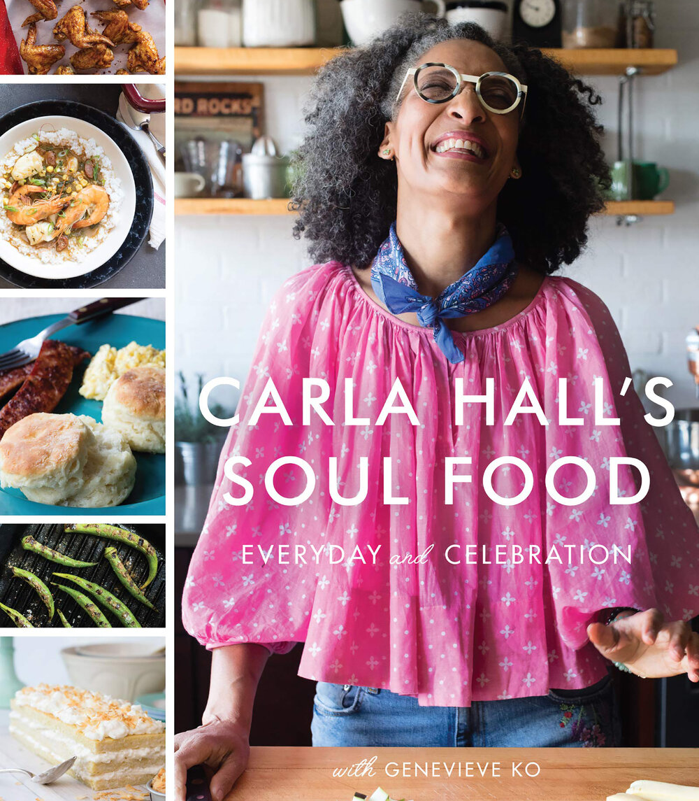- Carla Hall's Soul Food: Everyday and Celebration by Carla HallRecipes inspired by her Nashville roots.