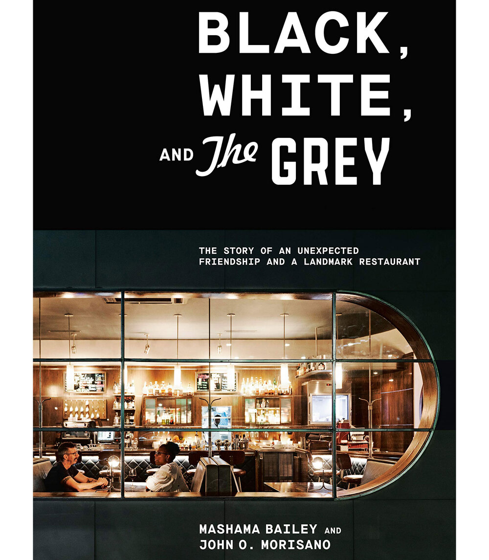 - Black, White, and The Grey: The Story of an Unexpected Friendship and a Landmark Restaurant by Mashama Bailey & John O. MorisanoWhile this one is only available for pre-order I had one of the best meals I have ever had at the Grey, a Savannah restaurant filled with an incredible history I can't wait to dig into.