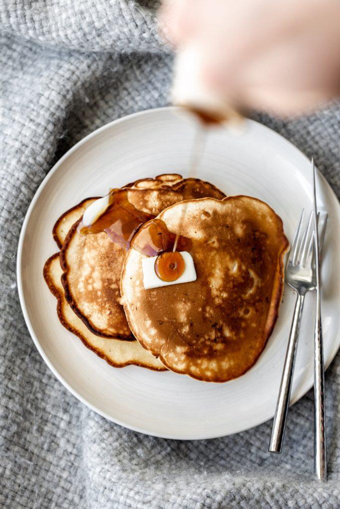 Pancake recipe for fall fruits