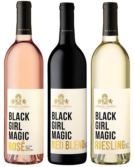 - McBride Sisters WineThis company was started by two sisters and the bottles/ cans are gorgeous!