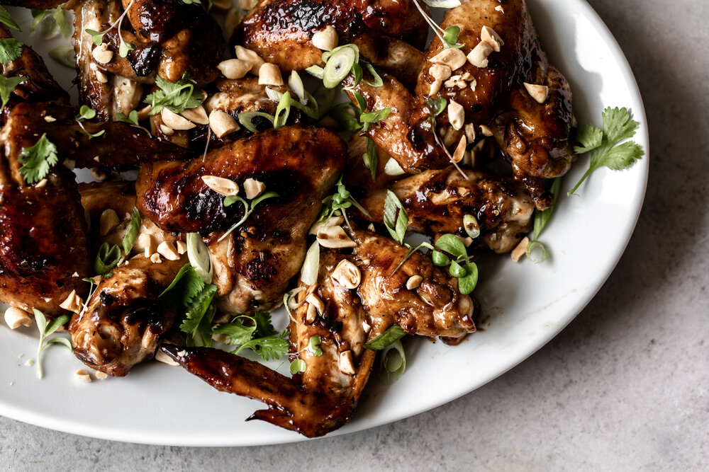 Grilled Garlic Soy Chicken Wings with Herbs & Peanuts-20.jpg