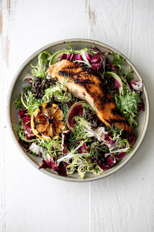 Grilled Salmon over Lentil Salad with Charred Meyer Lemon Vinaigrette-15.jpg