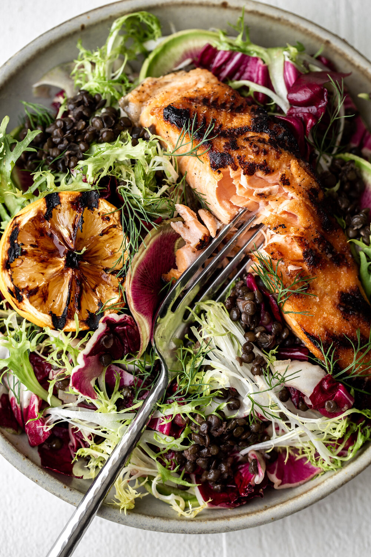Grilled Salmon over Lentil Salad with Charred Meyer Lemon Vinaigrette-26.jpg