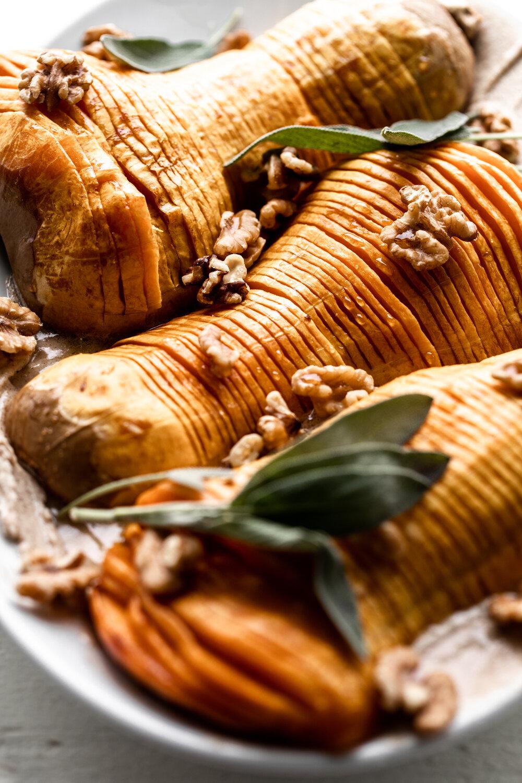 Honey Glazed Hasselback Butternut Squash with Cinnamon Mascarpone Spread-38.jpg
