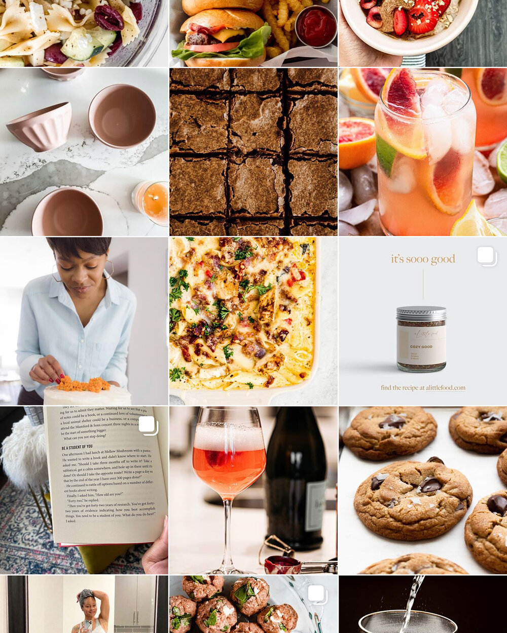 """- A Little Food BlogSelf-taught chef Jaylynn creates recipes to ispire others to """"cook well and stay cozy"""""""