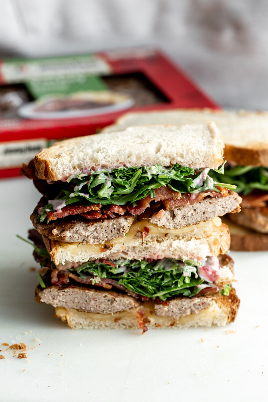 Kroger jimmy dean turkey sausage breakfast sandwich with cranberry mayo-11.jpg
