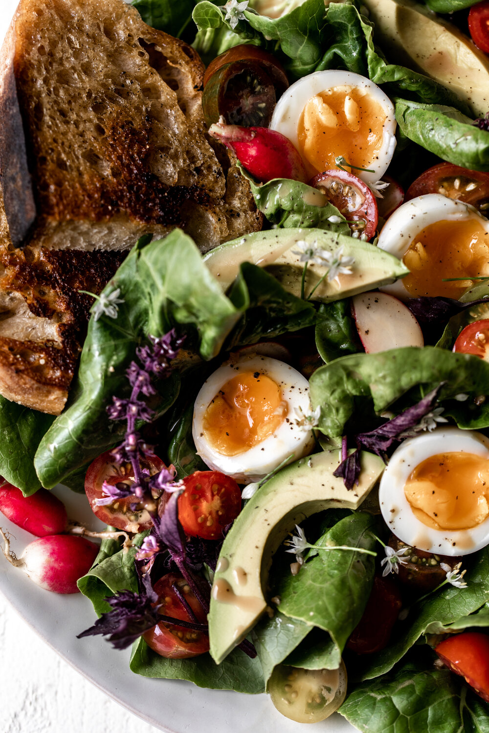 Late Summer Salad with Jammy Eggs and Creamy Balsamic Vinaigrette-26.jpg