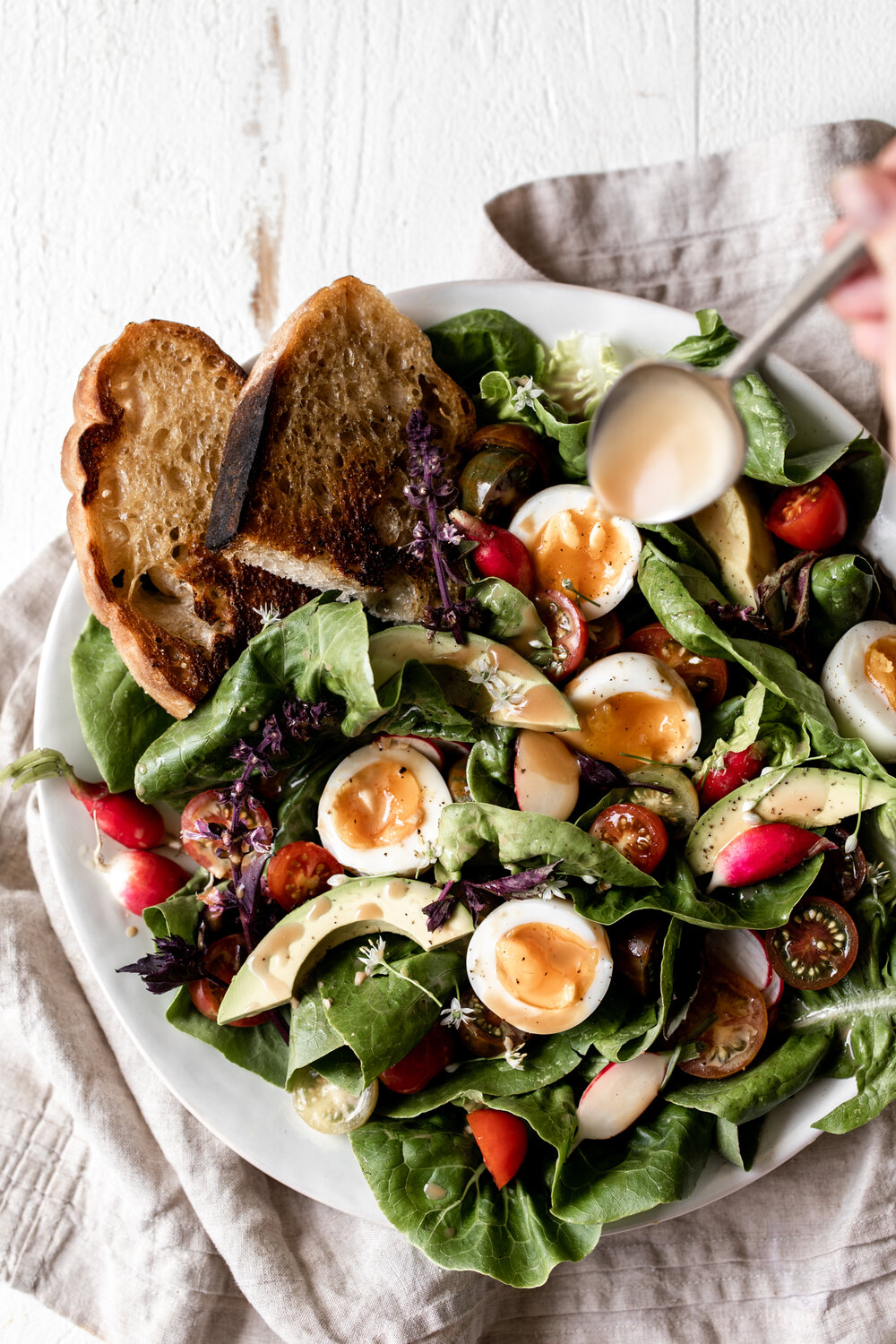 Late Summer Salad with Jammy Eggs and Creamy Balsamic Vinaigrette-38.jpg