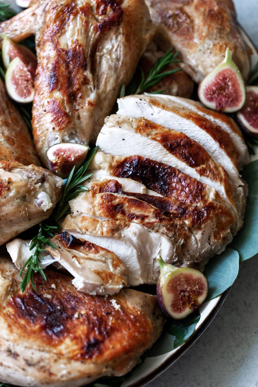 Lemon Rosemary Sous-Vide Turkey