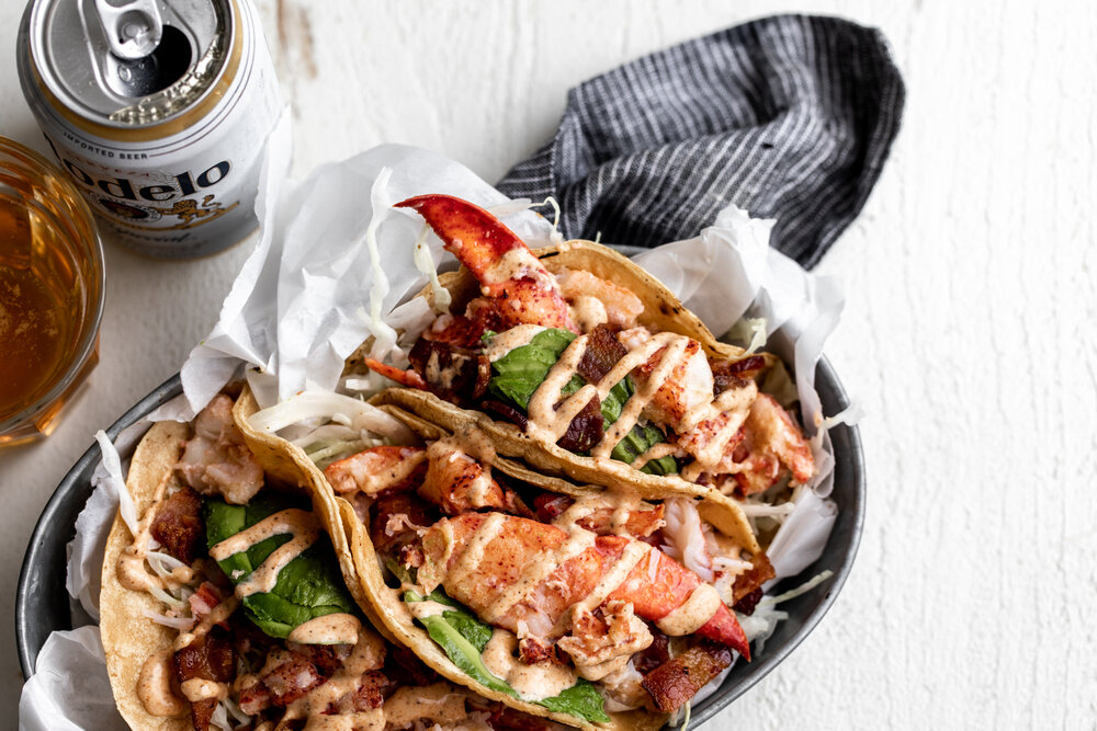Lobster & Bacon Tacos with Old Bay Crema-12.jpg