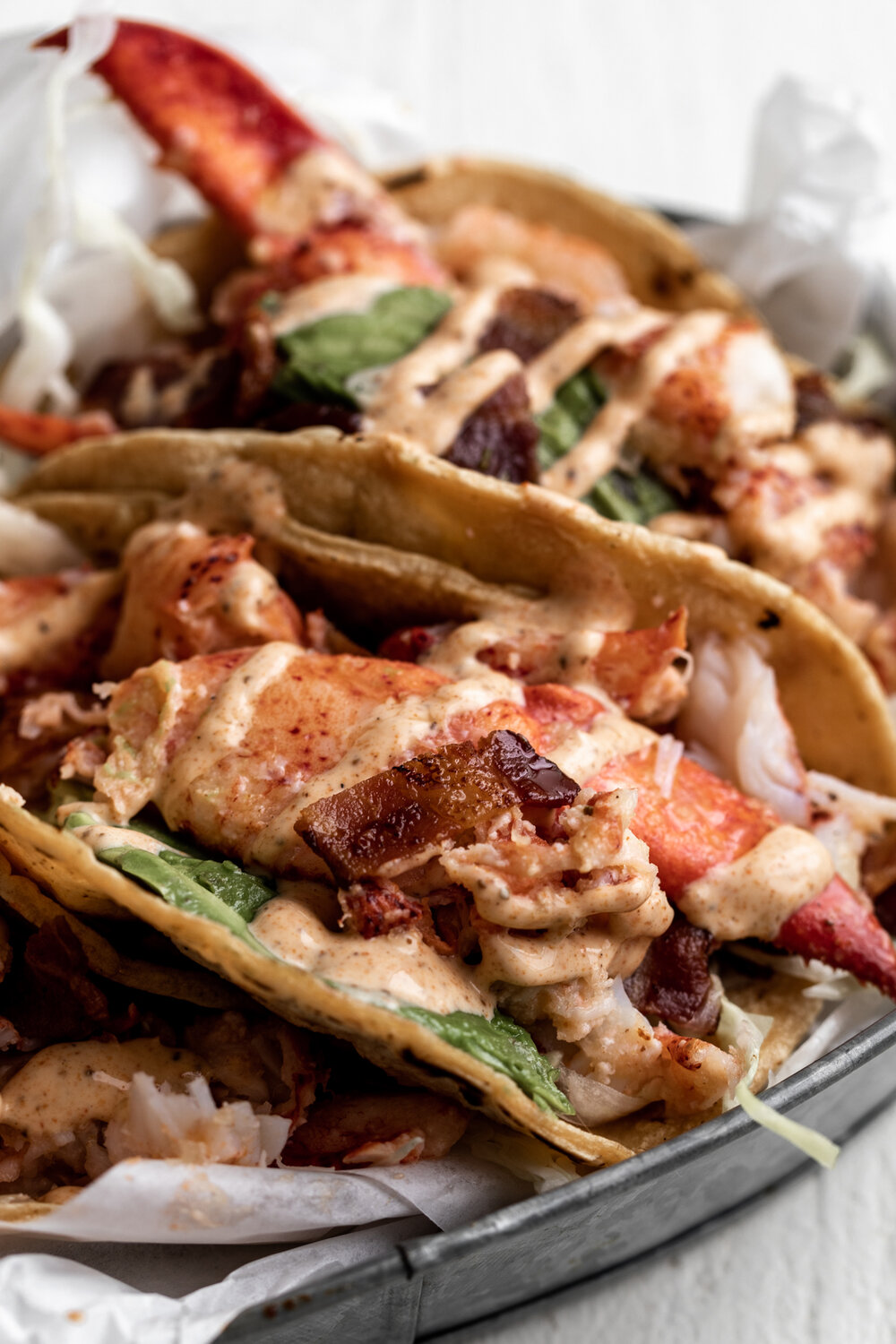 Lobster & Bacon Tacos with Old Bay Crema-23.jpg