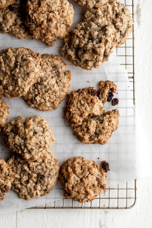 Oatmeal Cookies with Chocolate Covered Raisins-14.jpg