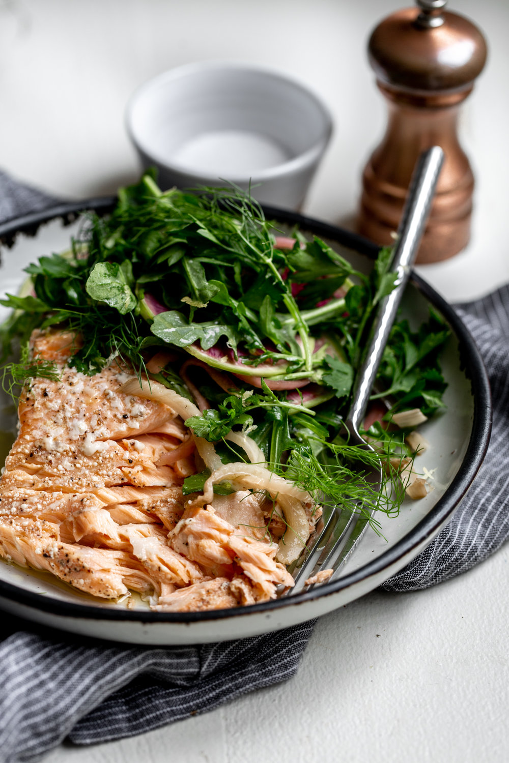 Olive Oil Slow-Poached Salmon with Fennel and Lemon Arugula Herb Salad-28.jpg