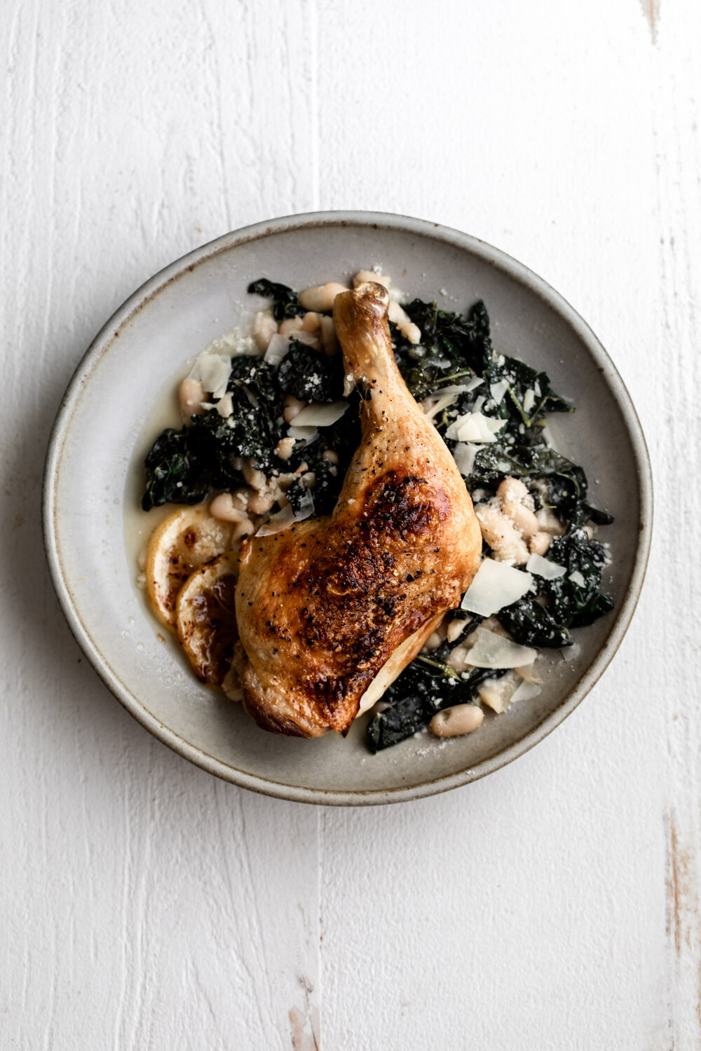 Roast Chicken Legs with Braised Kale and White Beans-26.jpg