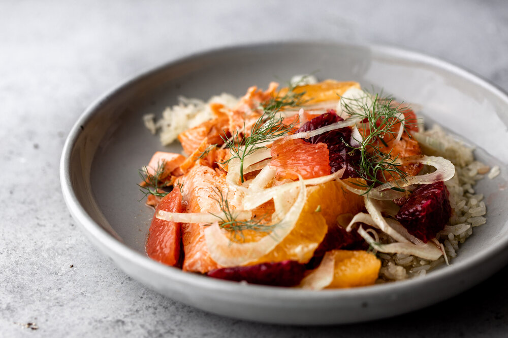 Roasted Salmon with Winter Citrus Salad and Brown Butter over Crispy Rice-37.jpg