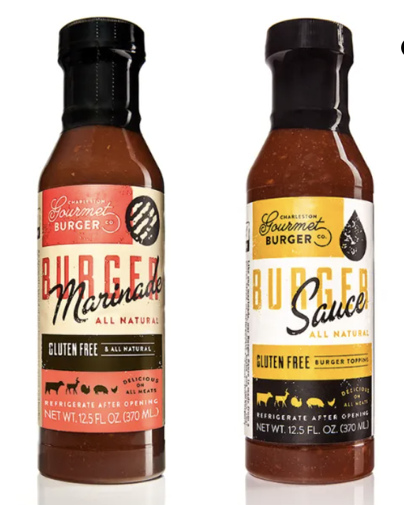 - Charleston Gourmet BurgerBarbecue sauces perfect for summer grilling!