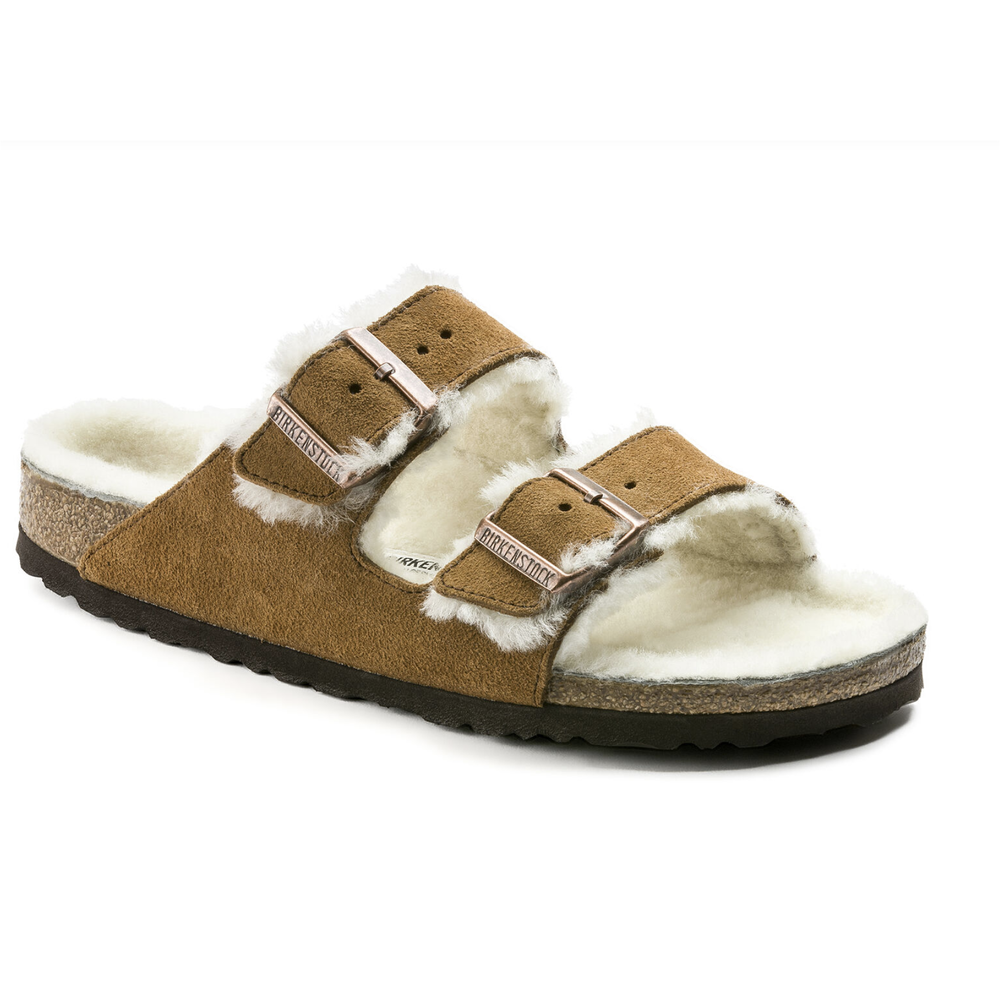 Arizona Shearling Birkenstock Sandals I got a pair of these last year and wear them like slippers though they are also a great shoe for walking the dog.