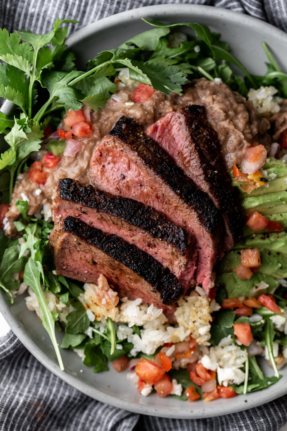 Seared Steak with Refried Pinto Beans, Crispy Rice and Arugula-44.jpg