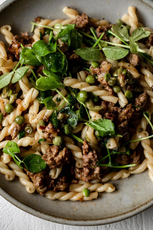 Spring Lamb Pasta with Peas and Greens American Lamb-18.jpg