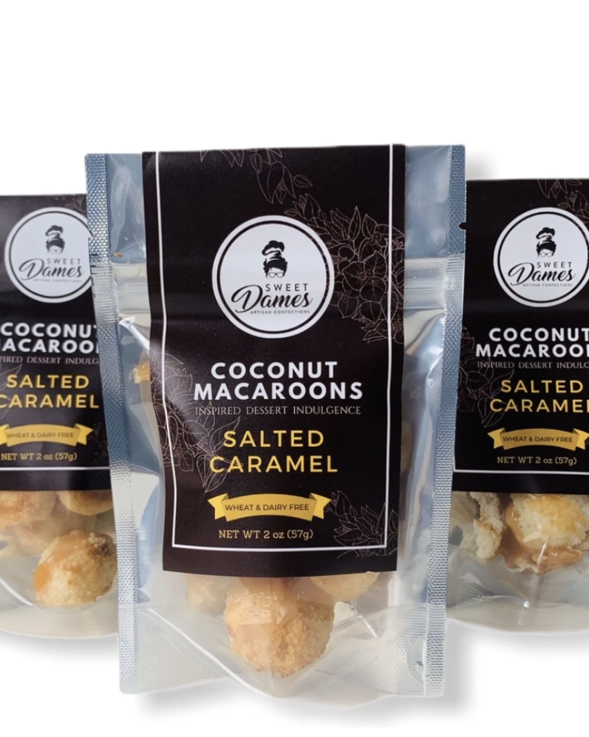 - Sweet Dames Artisan ConfectionsThis sweets company sells macaroons that make the perfect after dinner treat. You can even get cocomallow sandwiches.