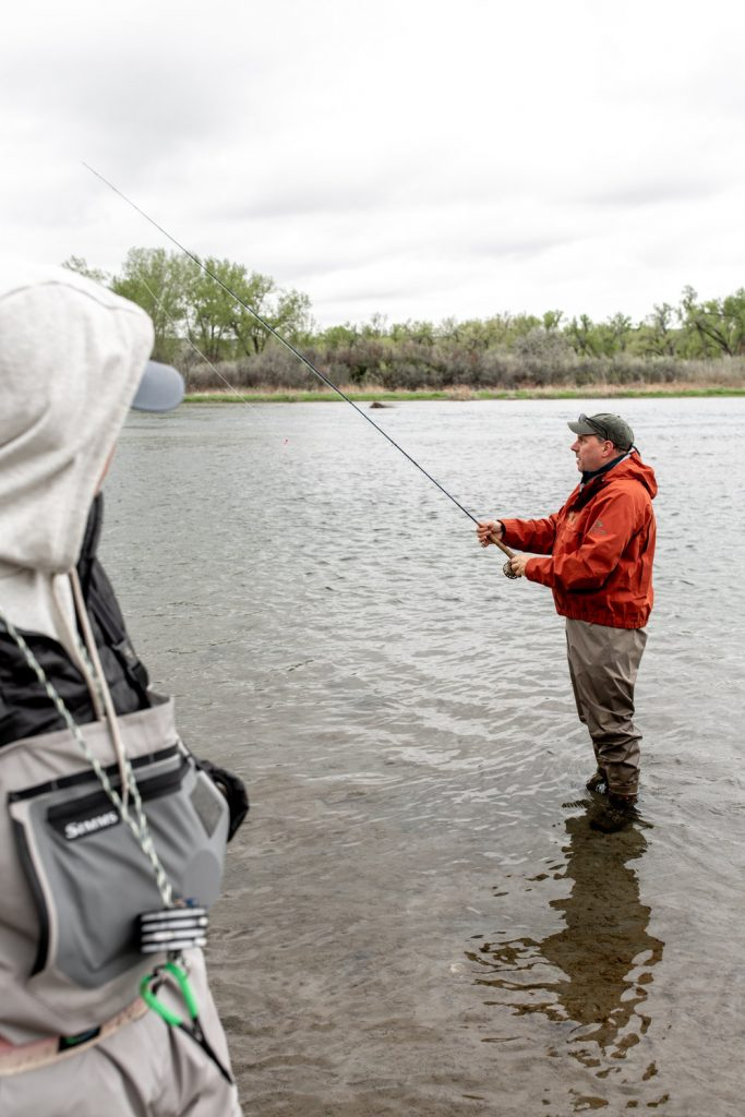 fishing on the bighorn river fort smith Montana