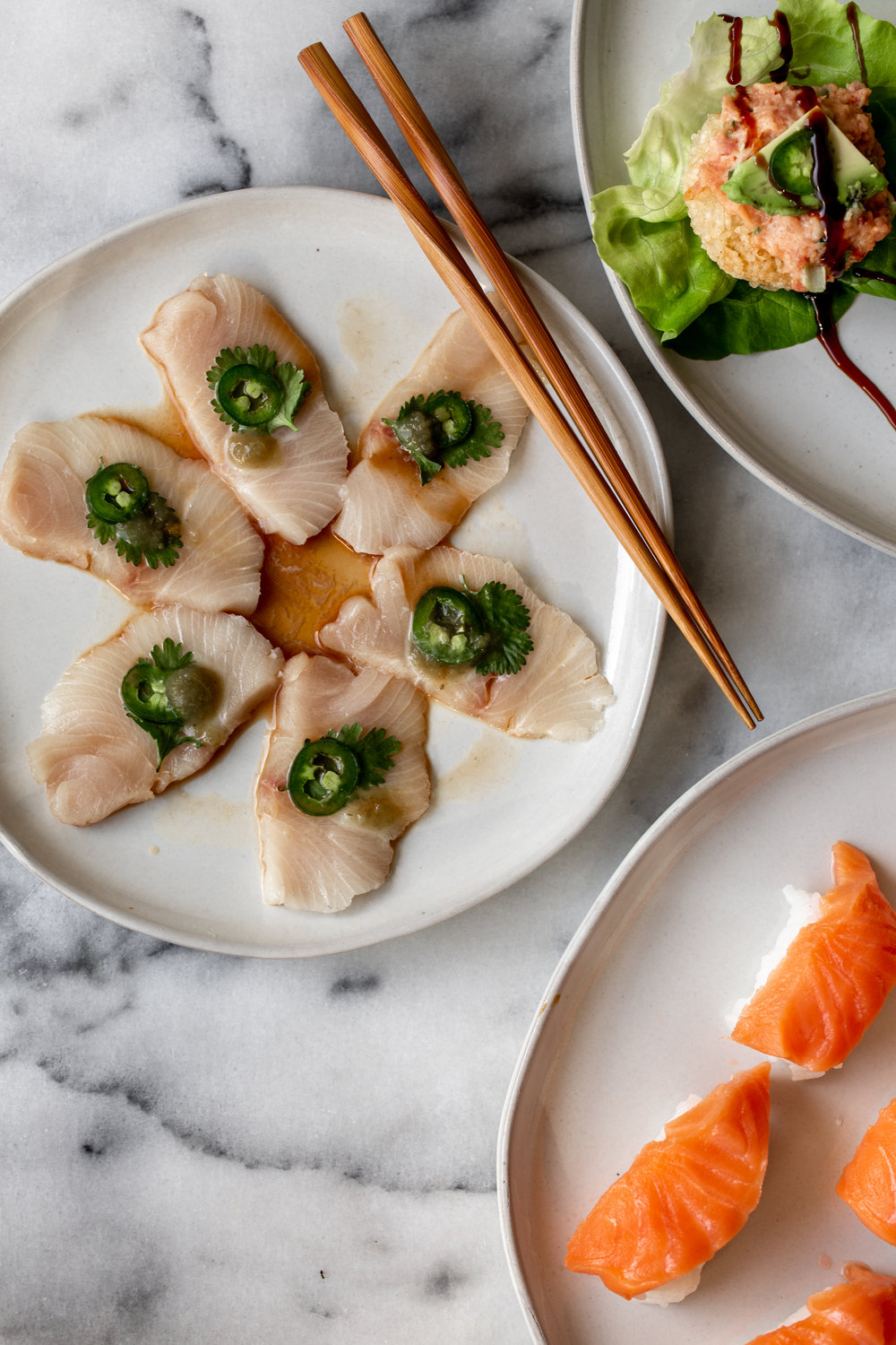 I'm sharing some of my favorite recipes inspired by the famed restaurant, Nobu to celebrate Valentine's Day with an at home sushi experience.