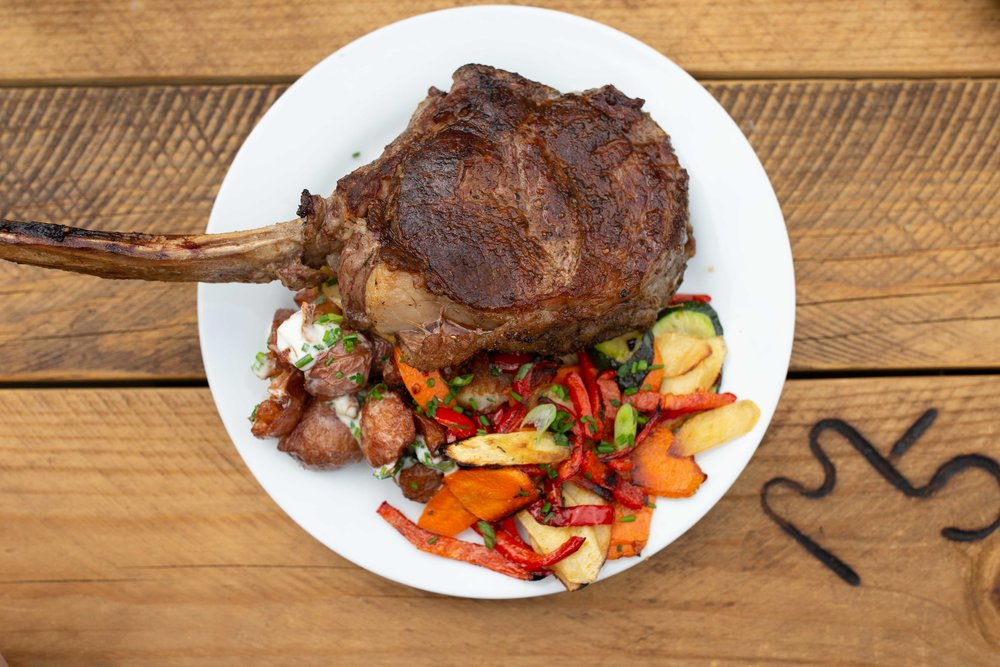 five marys tomahawk steak