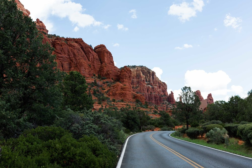 arizona road trip cooking with cocktail rings sedona red rocks