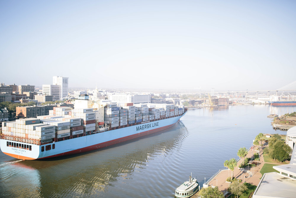 cargo ship savannah ga