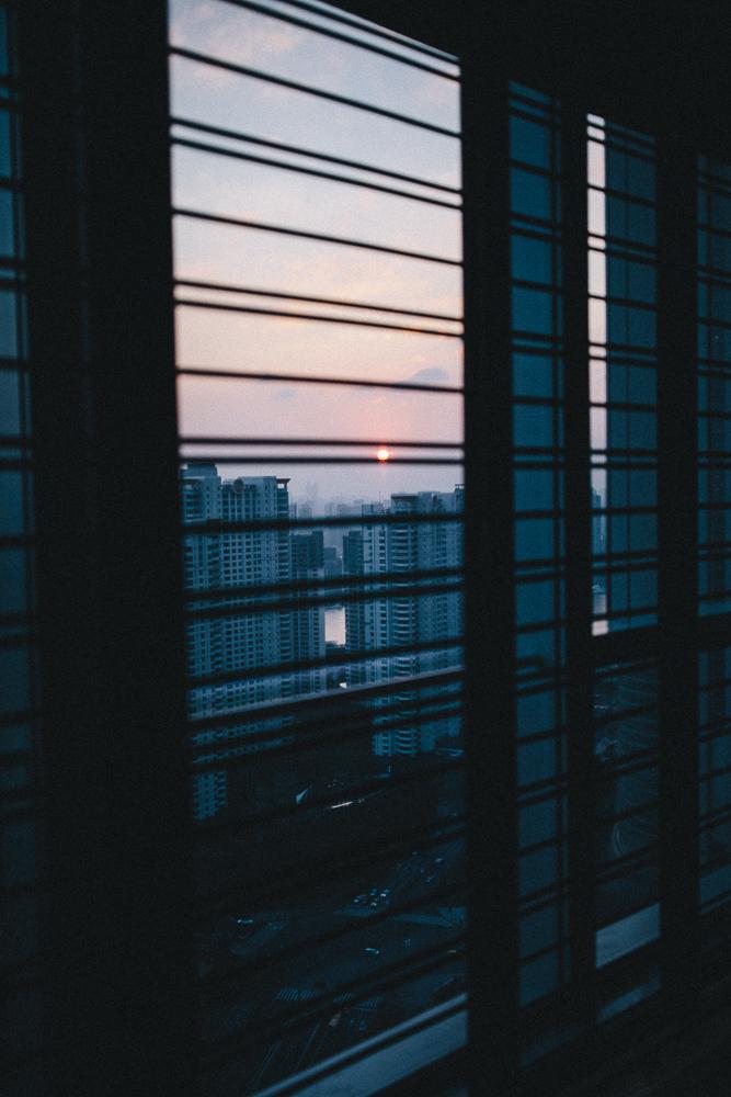 sunset at four seasons shanghai
