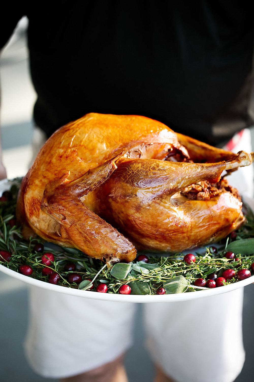 thanksgiving herb brined turkey
