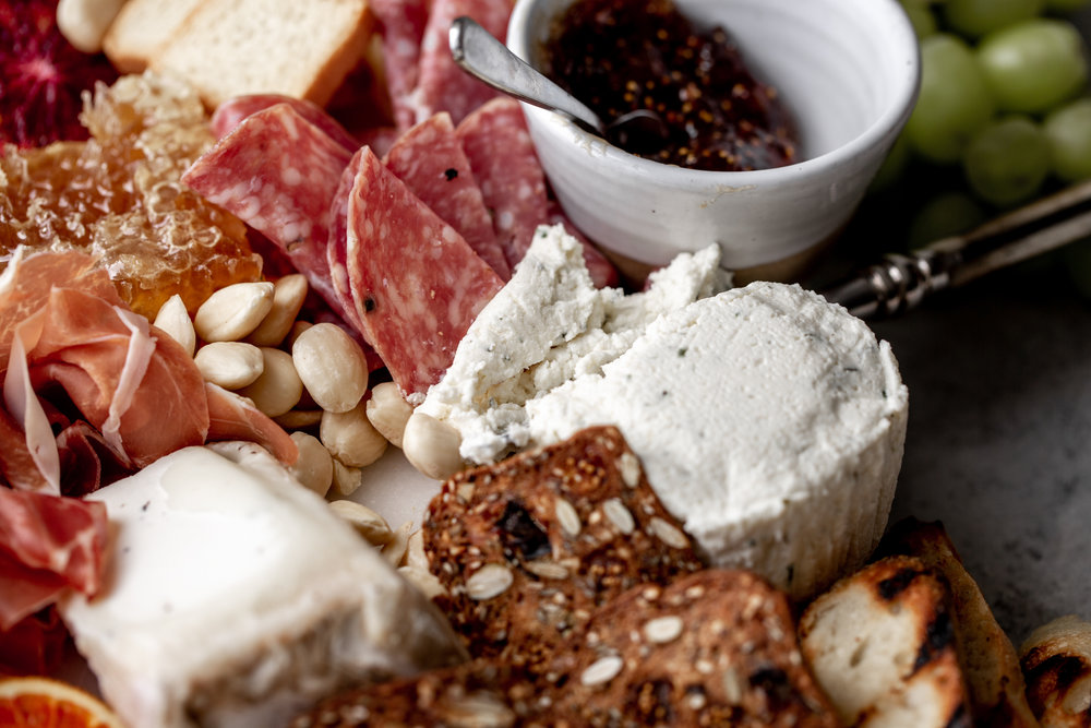 how to put together a cheese and charcuterie board boursin cheese cwcr