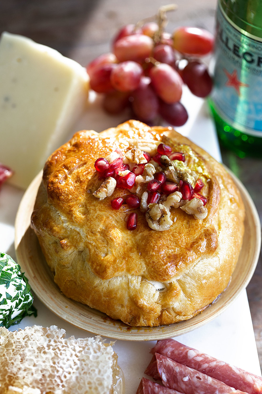 baked brie with honey