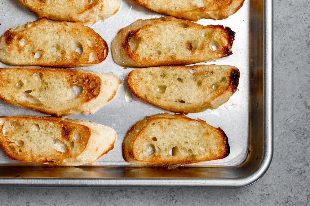 broiled crostini