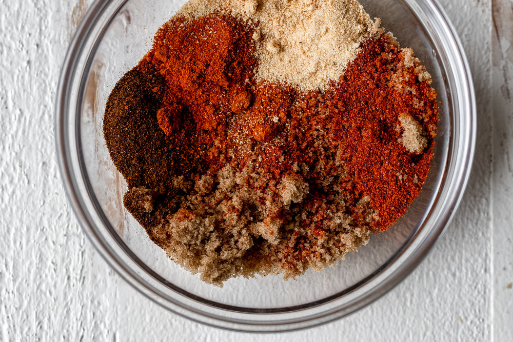 Nashville Style Hot Chicken spice mixture cayenne brown sugar chili powder paprika