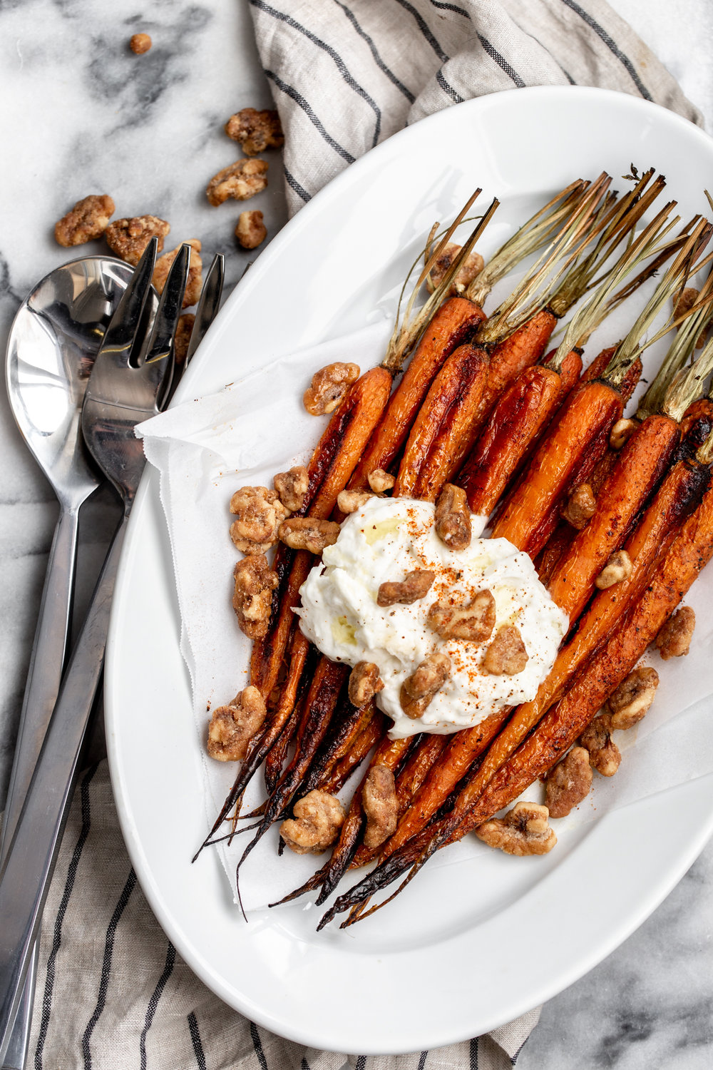 roasted carrots with burrata and glazed walnuts recipe from cooking with cocktail rings diamond nuts