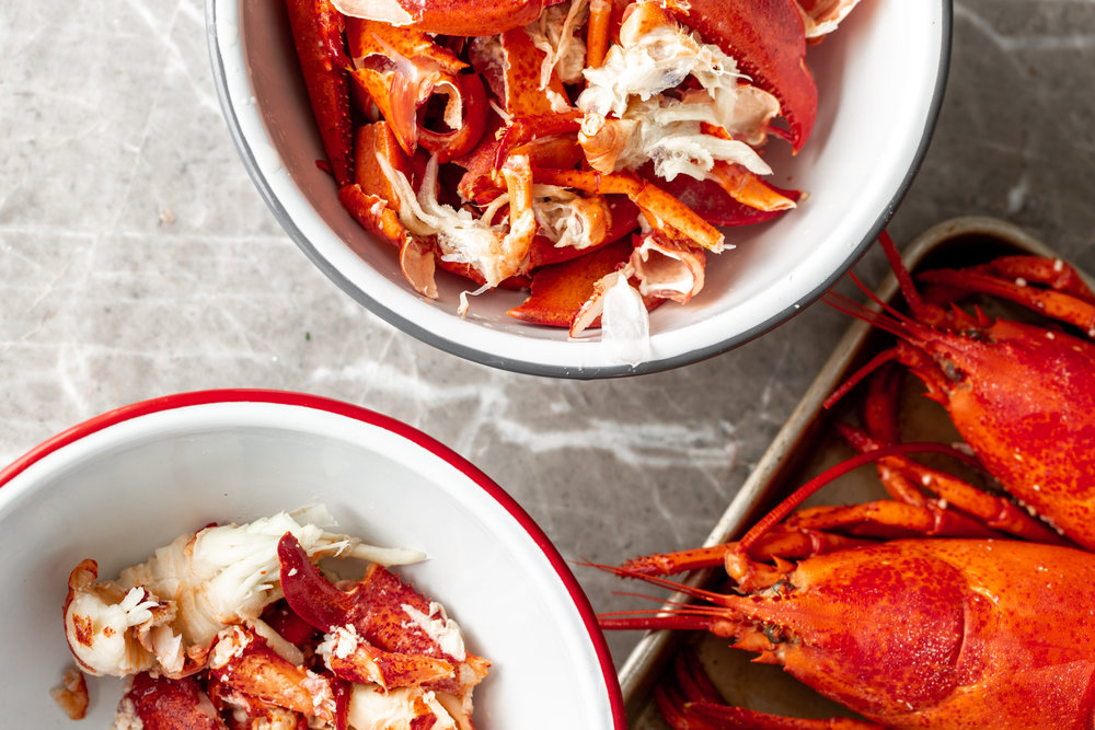 Lobster Pot Pielobster shelled