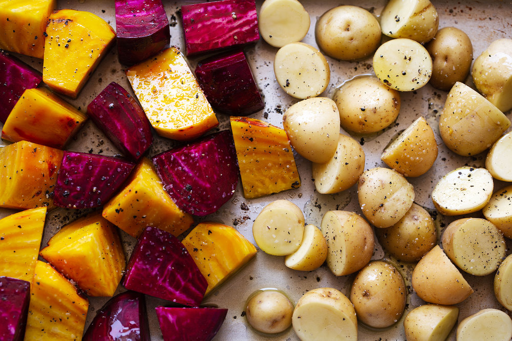 roasted beets and potatoes ingredients