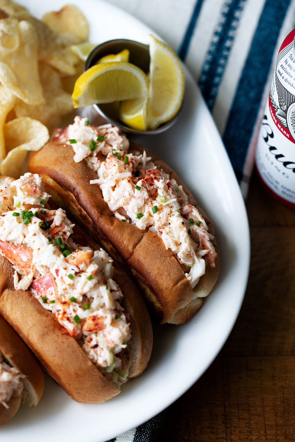 new england style lobster roll recipe from cooking with cocktail rings