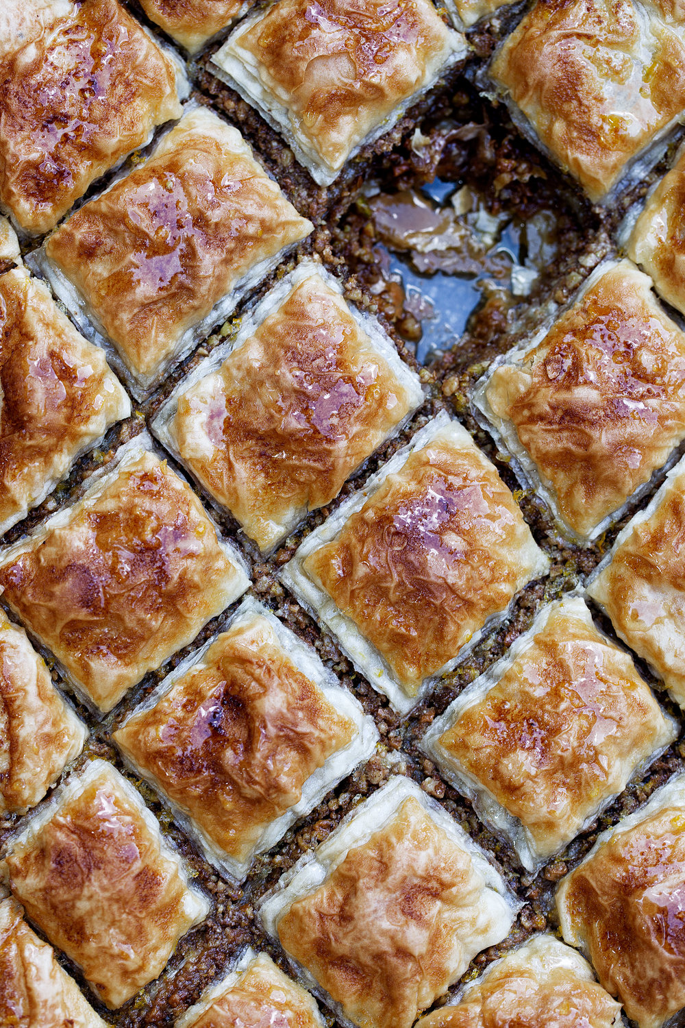 baklava cooking with cocktail rings greek dessert