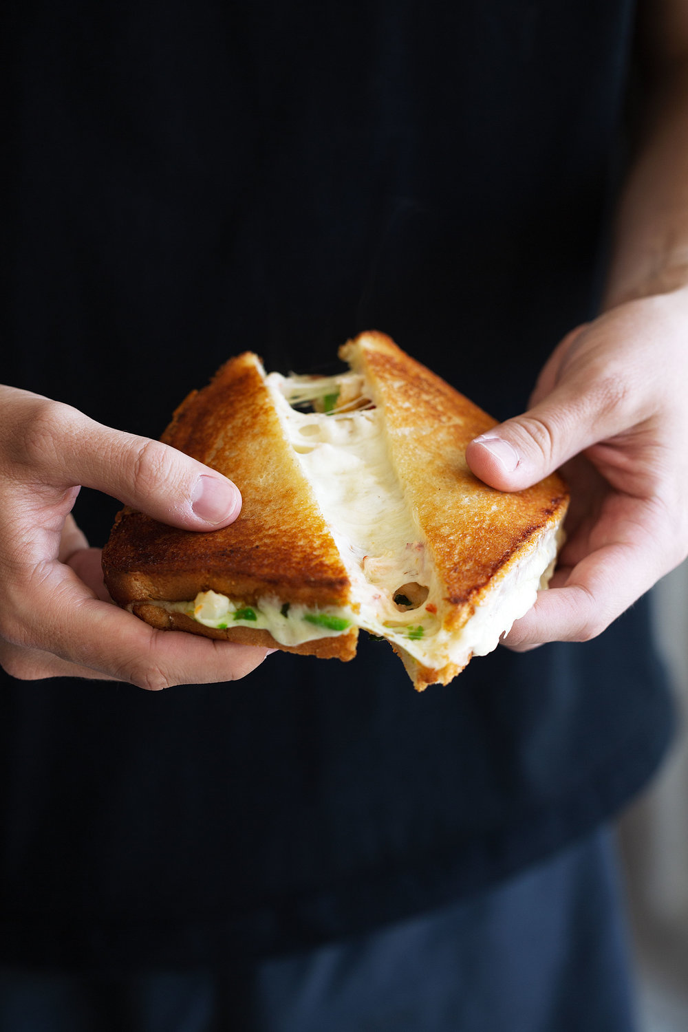 Lobster Grilled Cheese with Avocado recipe from cooking with cocktail rings ca avocado cheese pull