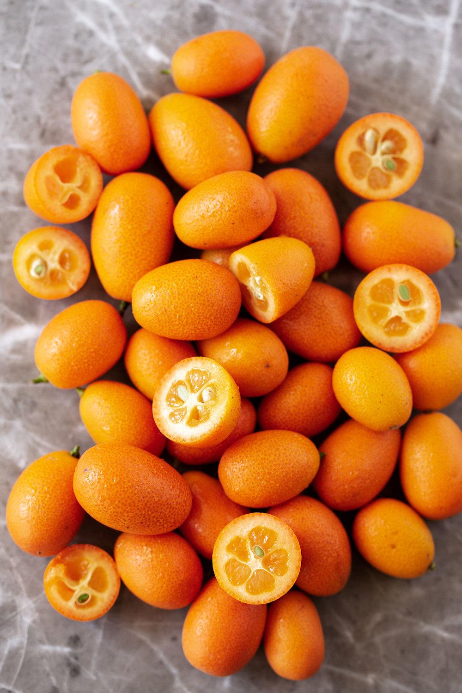 kumquats ingredient shot