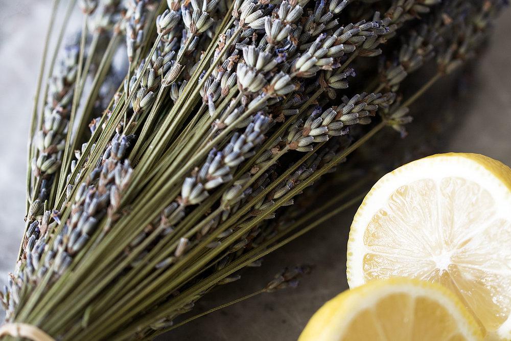 lavender and lemons