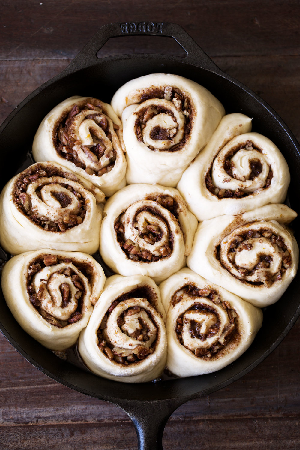 orange pecan sticky buns cooking with cocktail rings diamond nuts rolls rise