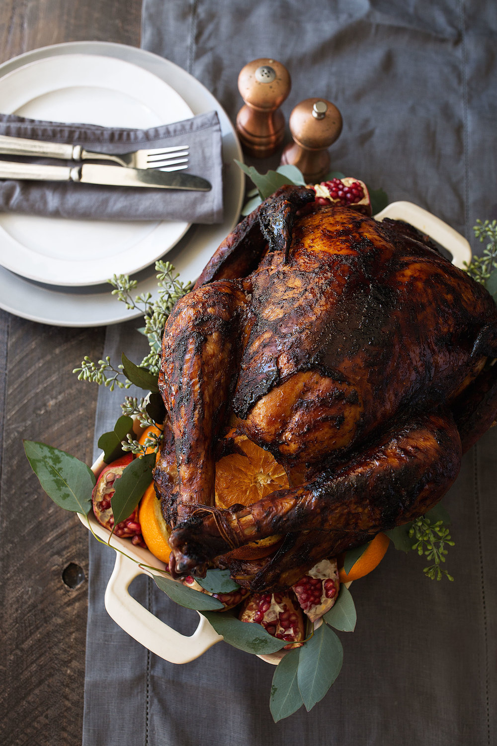 chili rubbed turkey with orange cooking with cocktail rings home depot