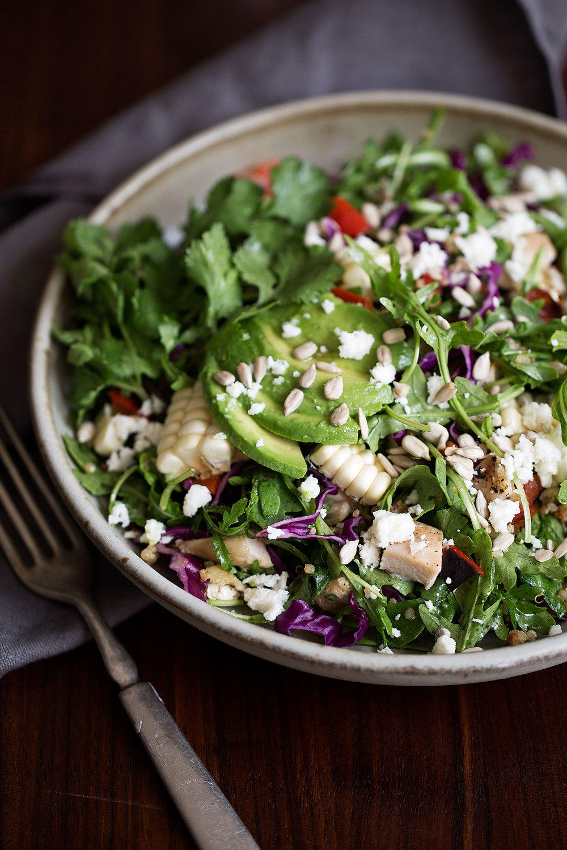 grain bowl mexican corn summer
