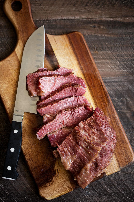 corned beef sliced